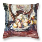 Cezanne: Still Life Throw Pillow