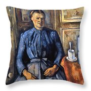 Cezanne: Woman, 1890-95 Throw Pillow
