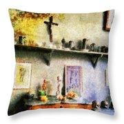 Cezanne's Studio Throw Pillow