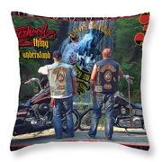 Cfmc Brotherhood Thing Throw Pillow