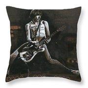 Cbgb's 1979 Throw Pillow