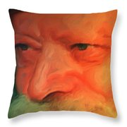 Chabad Lubavitch Rebbe Throw Pillow