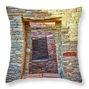 Chaco Canyon Windows Throw Pillow