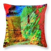 Chaco Culture Abstract Throw Pillow