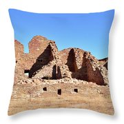 Chaco Ruins  Throw Pillow