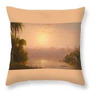 Chagres River  Panama Throw Pillow