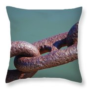 Chain Chain Chain Throw Pillow