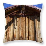 Chain Up Throw Pillow