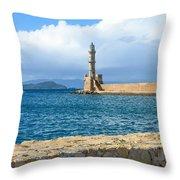 Chaina Harbor Throw Pillow