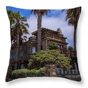 Chained To Venice Beach Throw Pillow