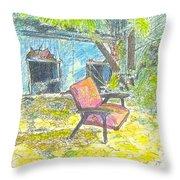 Chair, 27 September, 2015 Throw Pillow