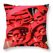 Chair Spiral Throw Pillow