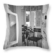 Chairs And Doors  Throw Pillow