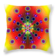 Chakras Throw Pillow
