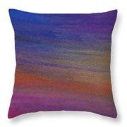 Chalk Art Abstract Throw Pillow
