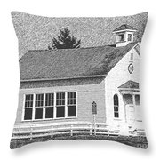 Chalkboard Slate Throw Pillow