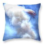 Challenge The Four Forces Throw Pillow