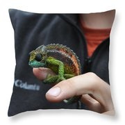 Chameleon 1 Throw Pillow