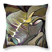 Chameleon Fish Throw Pillow