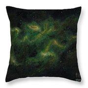 Chameleon Nebula Throw Pillow