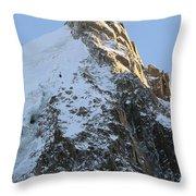 Chamonix - Aiguille Du Midi Throw Pillow