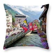 Chamonix, France Throw Pillow
