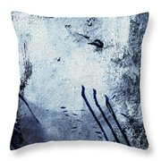 Chamonix Les Alpes Throw Pillow