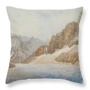 Chamonix Throw Pillow by SIL Severn