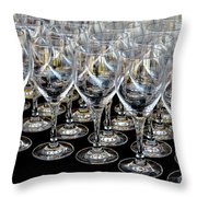Champagne Army Throw Pillow