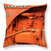 Champion 9g Tractor 02 Throw Pillow