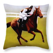 Champion Hurdle - Winner - Morley Street Throw Pillow