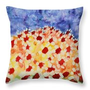 Champs De Marguerites - 01 Throw Pillow