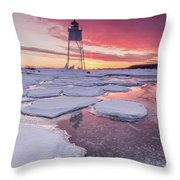 Chance Reflections  Throw Pillow