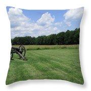 Chancellorsville Battlefield 2 Throw Pillow