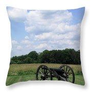 Chancellorsville Battlefield 3 Throw Pillow