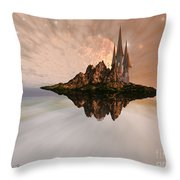 Chandara Throw Pillow by Corey Ford
