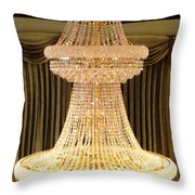 Chandelier Hanging Tall Throw Pillow