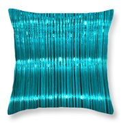 Chandelier In Blue 3 Throw Pillow