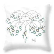 Chandilier Throw Pillow