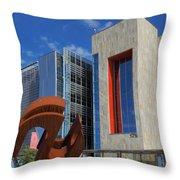 Chandler City Hall 2 Throw Pillow