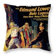 Chandu The Magician Throw Pillow