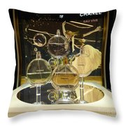 Chanel Chance Throw Pillow