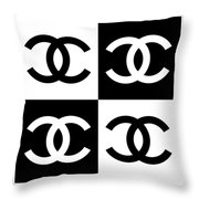 Chanel Design-5 Throw Pillow