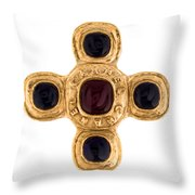Chanel Jewelry-12 Throw Pillow