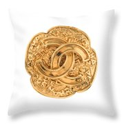 Chanel Jewelry-7 Throw Pillow