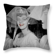Chanel Premier Rouge 1924 Throw Pillow