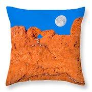 Chang-o, The Chinese Moon Goddess  Throw Pillow