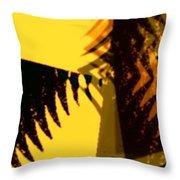 Change - Leaf11 Throw Pillow