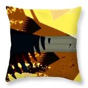 Change - Leaf14 Throw Pillow