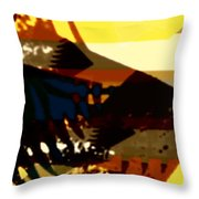 Change - Leaf15 Throw Pillow